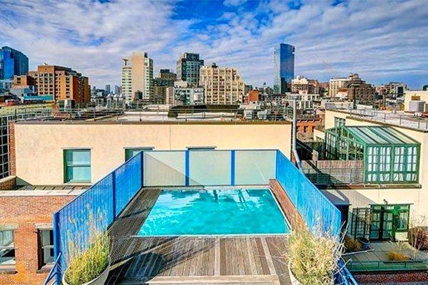 Attico loft con piscina soho new york homenew york home for Loft new york affitto settimanale