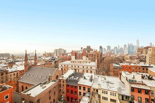 Monolocale con alcova a brooklyn heights new york for Monolocale a new york