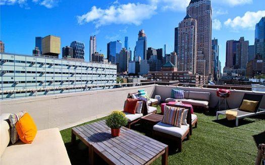 Appartamento con balcone Times Square