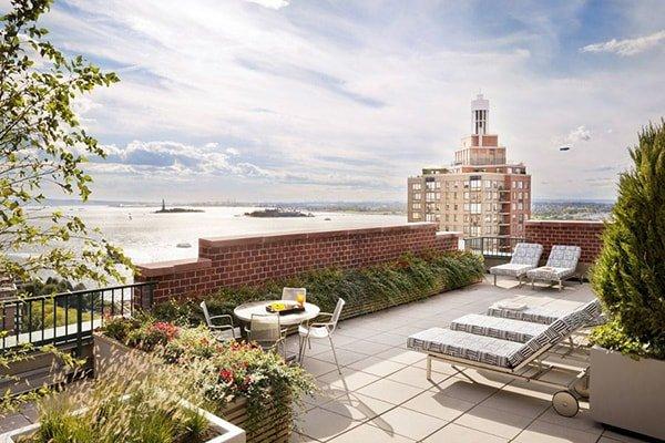 Bilocale open space New York in condominio lusso a Battery ParkNew ...