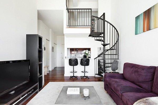 Appartamento su due piani manhattan new york homenew for Affitto monolocale new york