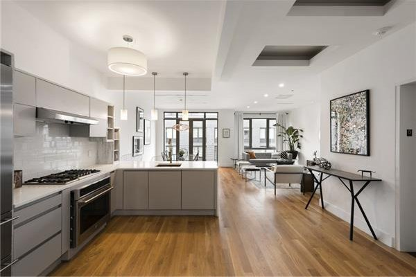 Attico su due piani williamsburg new york homenew york home for Due piani