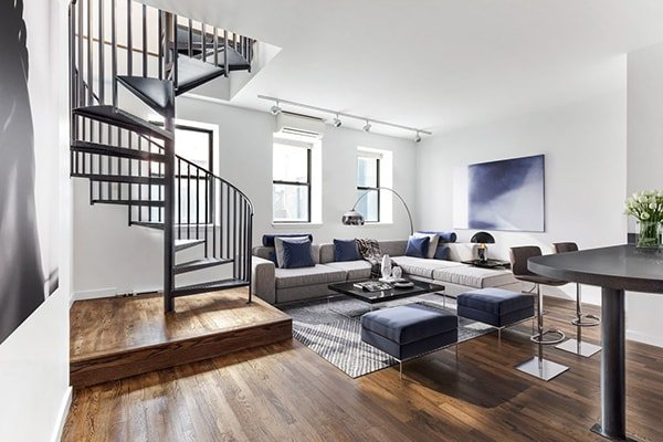 Appartamento duplex a Brooklyn