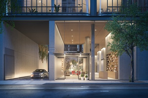 Trilocale nel condominio di renzo piano new york homenew for 3 camere da letto 2 bagni piani piano aperto