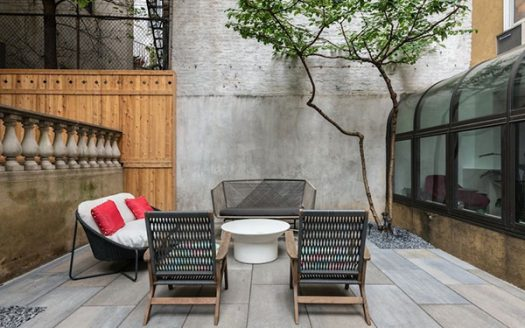 Duplex due camere nell'East Village