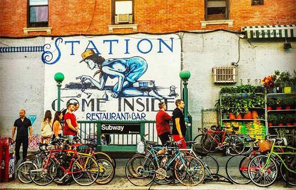 La bicicletta nei condomini a New York