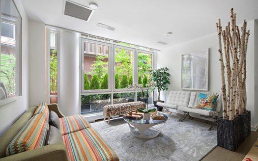 Appartamento con giardino a Soho
