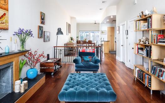 Appartamento su tre piani Park Slope