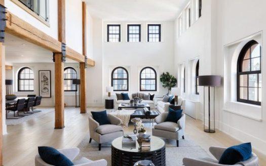 Magnifico attico 3 piani a Tribeca